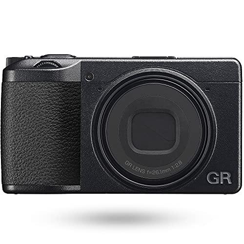 RICOH GR IIIx デジタルカメラ 【焦点距離 40mm】【24.2M APS-Cサイズ大型CMOSセンサー搭載】【最強のスナップシュータ―】【約0.8秒 高速起動】【高速ハイブリッドAF】【高解像・高コントラスト GRレンズ】【3軸・4段 手ぶれ補正機構 SR】 15284