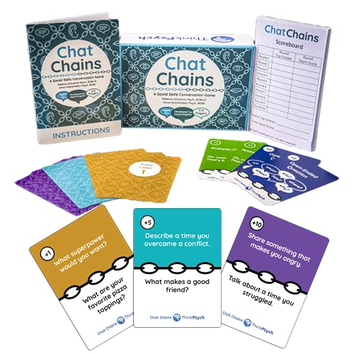 Chat Chains: Social Emotional Learning & Social Skills Games...