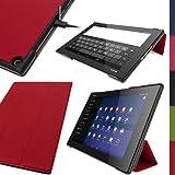 igadgitz U2900 Cuir PU Smart Cover Étui Housse Case Compatible avec Sony...
