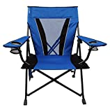 Kijaro XXL Dual Lock Portable Camping and Sports Chair, Maldives Blue