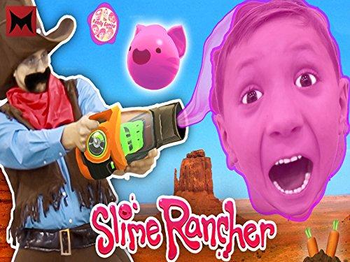 Gooey Squishie Slime Monsters vs Fgteev Sheriff Slime Rancher Farm Gameplay Skit!