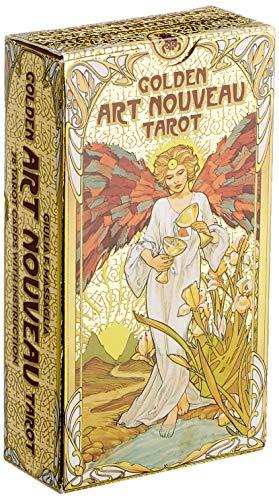 Golden Art Nouveau Tarot (Tarot Cards)