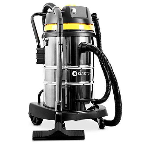 KLARSTEIN IVC-50 - Aspiratore Industriale, Ideale per Secco/Umido, Efficienza 2000W, Filtro HEPA,...