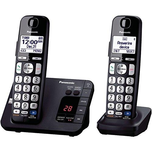Panasonic KX-TGE232B Cordless Phone