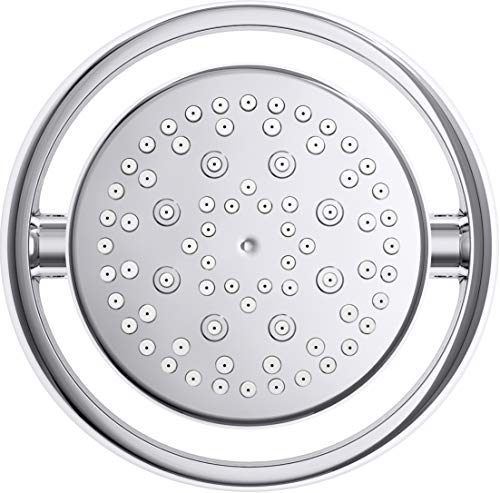 Kohler K-15996-CP Flipside 2.5 gpm multifunction wall-mount Showerhead, Polished Chrome