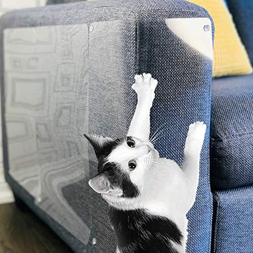 Stelucca Amazing Shields Furniture Protectors from Cats Cat Repellent for Furniture Cat Scratch Deterrent Couch Protector Scratch Pad Cat Repellent Cat Couch