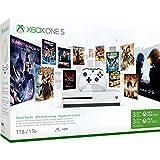 Xbox One S 1TB Konsole & 3 Monate Xbox Live Gold-Mitgliedschaft, Xbox Wireless Controller (Textured Grip, Bluetooth, 3,5mm-Klinkenstecker), 3 Monate Xbox Game Pass 4K-HDMI-Kabel & Stromkabel 3 Monate Xbox Game Pass - Erhalten Sie sofortigen Zugriff a...