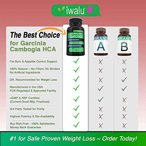 Best Weight Loss Products That Work: Appetite Suppressant for Women, Garcinia Cambogia Extract Bloating Relief and Weight Loss, Best Fat Burner for Women Weight Loss to Lose Belly Fat Fast Women 3 PK 2