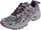 ASICS Women's Gel-Venture 5 Trail Running Shoe, Frost Gray/Gray/Silver/Magenta, 7 M US