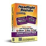Nettoyage et restauration Kit pour phares fonctionne en 2 minutes