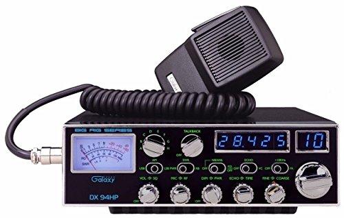 Galaxy DX-94HP 10 Meter Amateur Ham Radio 100W Blue LED's 4 Mosfets SSB