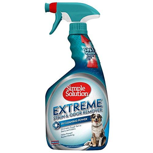 Simple Solution removedor de manchas y olores para mascotas