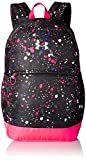 Under Armour Girls' Favorite Backpack, Black (005)/Metallic Silver,  One Size Fits All
