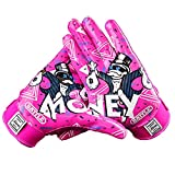 Battle Sports Money Man 2.0 Football Receiver Gloves for Youth and Adults