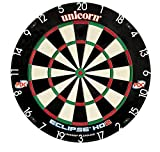 Unicorn Eclipse HD2 High Definition Professional Bristle Dartboard with Increased Playing Area and Super Thin Bullseye