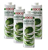 FOCO Fruit Nectar 33.8oz Pack of 4 (Soursop)