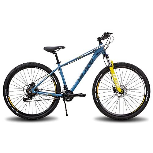 Hiland Bicicleta de montaña de aluminio de 29 pulgadas, 16...