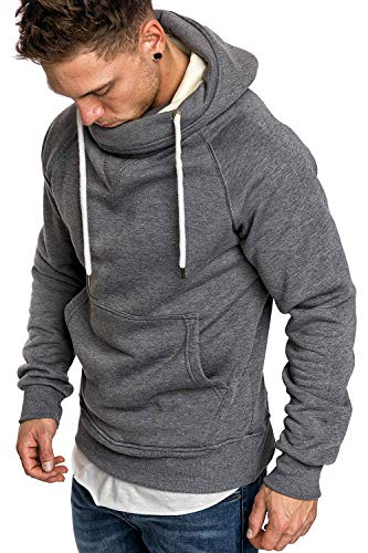 Fashion Mens Athletic Hoodies T-Shirts - Casual Sport Sweatshirt...