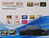 Sayeny Smart HD 1080p MPEG-4 Satellite Digital TV Set Top Box with Pendrive Slot