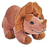 Wild Republic, Dino Triceratops bebé, Manta de dinosaurios, 25 cm
