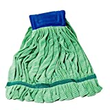 Arkwright SmartChoice Microfiber Tube Mop Head, Highly Absorbent, Quick Drying, Ideal for Home, Commercial, and Industrial Use (Green, 14 oz.)