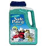 Safe Paw, Child Plant Dog Paw & Pet Safe Ice Melt -8lb, 100% Salt/Chloride Free -Non-Toxic, Vet Approved, No Concrete Damage, Fast Acting Formula, Last 3X Longer