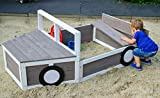 Sandkasten Geländewagen, Buddelkiste in Auto-Form, FSC-Holz, 170 x 97,5 x 63 cm - 8