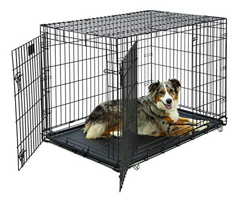 Life Stages LS-1642DD Double Door Folding Crate...