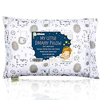ERGONOMICALLY DESIGNED - Highly raved by parents all around the world, our KeaBabies Toddler Pillow is ergonomically designed and tested on toddlers for the best spinal support without compromising on their comfort. DURABLE & WASHABLE - We know that ...