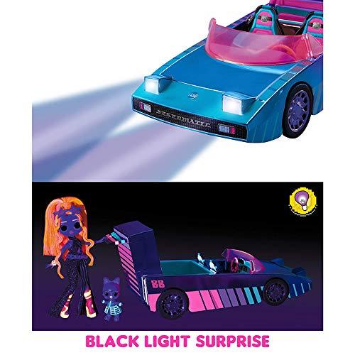 Image 3 - Voiture Dance Machine LOL Surprise avec Poupée exclusive, Piscine Surprise, Piste de Danse et Lumière magique. Voiture de poupée multicolore, pour les filles de 4 and et plus