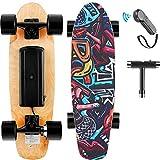 Hanico E-Cruiser Skateboard Électrique avec Télécommande, 7 Couches de...