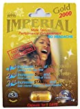 (3) Imperial 2000mg Gold Male Sexual Performance Enhancement Pill 3-PK