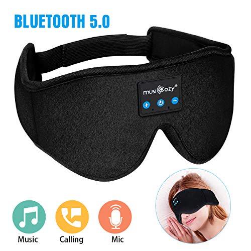 MUSICOZY Sleep Headphones, Bluetooth Sleep Mask Eye...