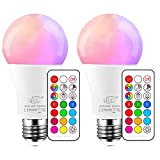 iLC Ampoule LED Couleur Edison Changement de Couleur Ampoule 10W E27...