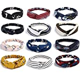 URAQT Headbands Vintage Élastique, Bandeau Cheveux Femme Vintage, Boho bandeaux...