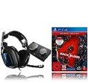 ASTRO Gaming A40 TR für PS5, PS4, PC, Mac - Schwarz/Blau + Back 4 Blood Deluxe Edition (Playstation 4)