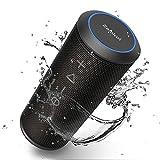 Bluetooth Speaker, Zamkol Bluetooth Speakers Portable Wireless, 360 Degree Sound, 24W Enhanced X-Bass, 8H Playtime, Built-in Mic Dual Pairing Loud Wireless Speaker, IPX6 Waterproof for Beach, Party