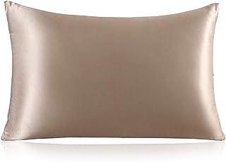 ZIMASILK 100% Mulberry Silk Pillowcase for Hair and Skin,with Hidden Zipper,Both Side 19..