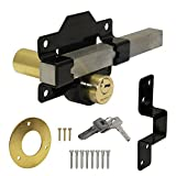 AUBNICO Double Locking Long Throw Cays Lock 50mm by A. Perry