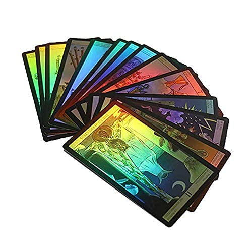 Nanxin Tarot Cards, 78 Pcs Juego de Mesa, Deck Vintage Tarot Cards Juego de Cartas Waite Future
