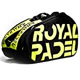 Royal Padel   Pádel Paletero/Mochila Térmica   Amarillo y Negro