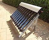 Solar Collector of Solar Hot Water Heater / with 10 Evacuated Tubes / Heat Pipe Vacuum Tubes, new/Capteur solaire de chauffe-eau solaire Hot / avec 10 tubes sous vide / Heat Pipe tubes ¨¤ vide, nouvelle