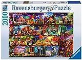 Ravensburger Puzzle 2000 Pezzi, Miracoloso Mondo dei Libri, Collezione Fantasy, Jigsaw Puzzle per Adulti, Puzzles Ravensburger - Stampa di Alta Qualità, Dimensione Puzzle: 98x75cm