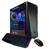 iBUYPOWER Gaming PC Computer Desktop 131A (AMD Ryzen 5 1600 3.2 GHz, AMD RX 550 2GB, 8GB DDR4 RAM, 240GB SSD, WiFi Ready, Windows 10 Home)