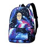 XCNGG Mochila para niños Mochila para niños Bolsos para niños Funny Face Starry Sky School Backpacks For Women High School Daypack