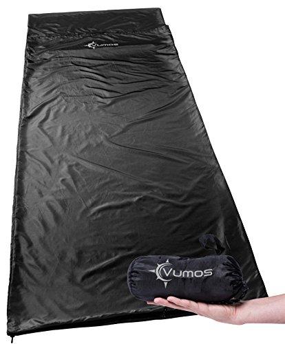 Vumos Sleeping Bag Liner and Camping Sheet – Silk Like...