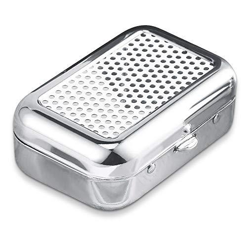 Gresunny Mini cendrier Portable cendrier de Poche en Acier Inoxydable...