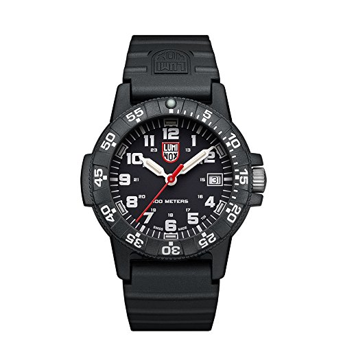 Luminox Unisex Erwachsene Analog Quarz Uhr mit PU Armband XS.0301.L