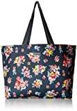 Vera Bradley Women's Lighten Up Large Family Tote Bag, Tossed Posies