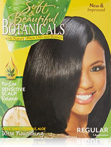 Regular No-Lye Sensitive Scalp Relaxer